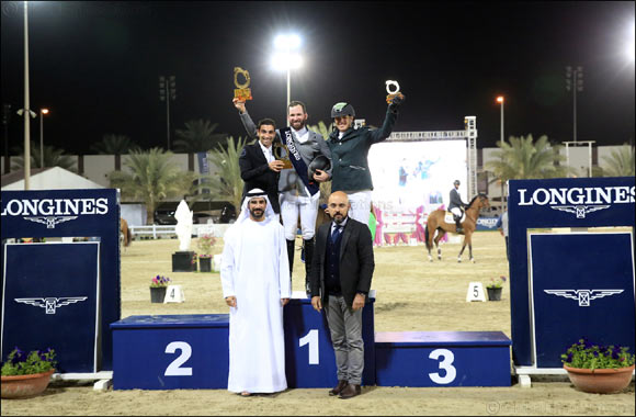 Germany's Philipp Weishaupt wins Sharjah Grand Prix presented by Longines in the 19th Sharjah International Show Jumping Championship