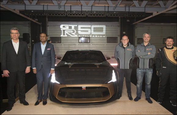 Exclusive Nissan GT-R50 by Italdesign Makes Middle East Debut