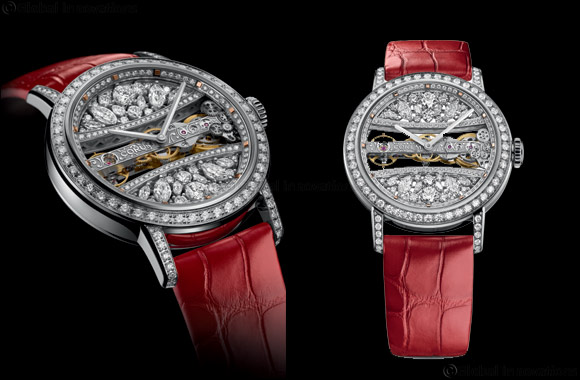 Corum Golden Bridge Round 39  makes an ideal gift for Valentine's Day