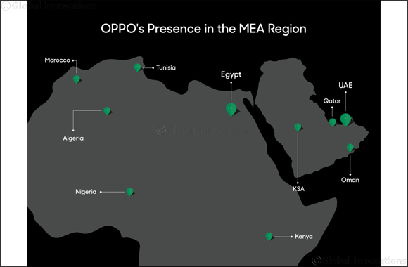 OPPO Pursues Middle East Expansion with New Regional Hub in Dubai
