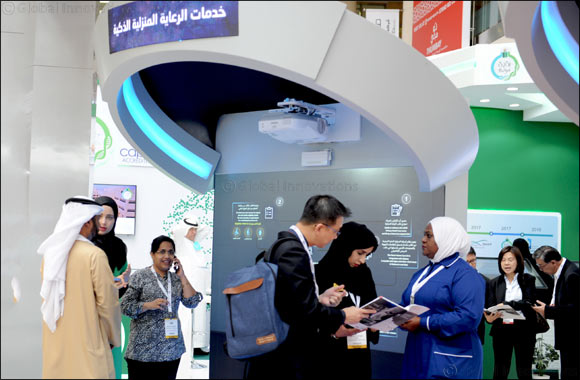 DHA highlights Smart Home Healthcare Services at Arab Health 2019.