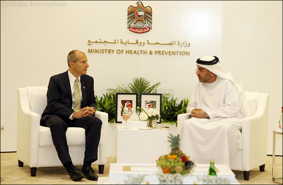 Omar bin Sultan Al Olama Meets CEO, Children's Hospital of Philadelphia