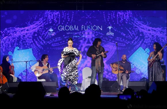 Alpen Capital's Global Fusion concert blends Indian, Arab and Western musical styles in Dubai