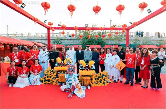 "Dubai Parks and Resorts and ""Hala China"" inaugurates the Chinese Festive Market at Riverland™ Dubai"