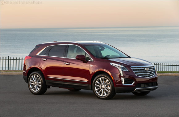 Cadillac's global best-selling XT5 SUV arrives in the Middle East