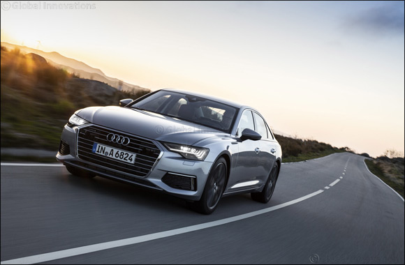 The new Audi A6 now available at Audi Al Nabooda