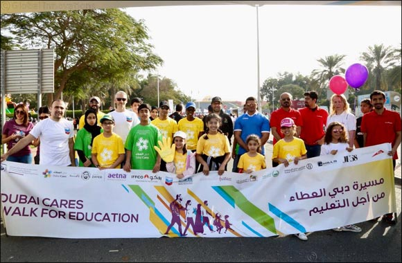 Dubai Cares Launches Spectacular Line-Up to Celebrate the 10th Anniversary of the Walk for Education