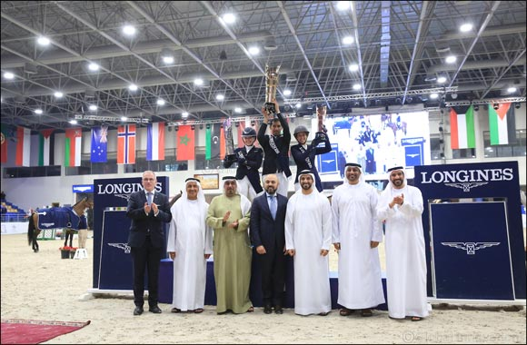 Momentous Victory for UAE as Abdullah Humaid wins H.H. Sharjah Ruler Cup International Show Jumping Championship (CSI5*W)
