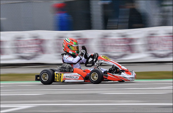Maiden WSK Win for the Young UAE Karting Star Rashid Al Dhaheri at WSK Super Master Series