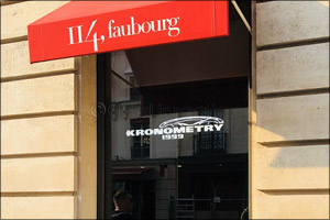 Kronometry 1999-Corum boutique in Paris