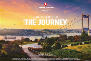 Turkish Airlines' journey to Istanbul Airport begins with a cinematic short film from the legendary  ...