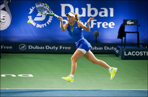 Caroline Wozniacki chasing more success at Dubai Duty Free tennis championships