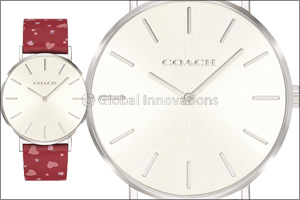 The Valentine watch collection by Coach