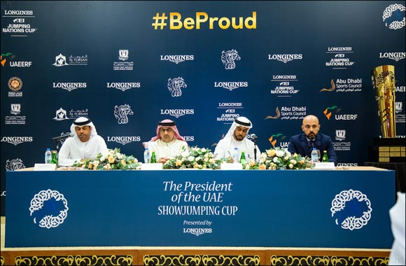 Team UAE Set Sights on Nations Cup Qualification at Five Star President of UAE Showjumping Cup presented by Longines
