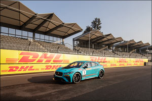 DHL chosen as Global Logistics Partner of the Jaguar I-PACE eTROPHY Championship