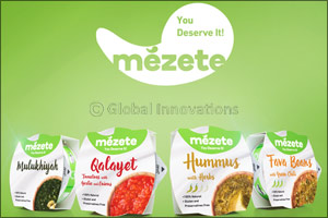 Kasih Food Production Co. reveals its latest food innovation, Mezete, at Gulfood 2019