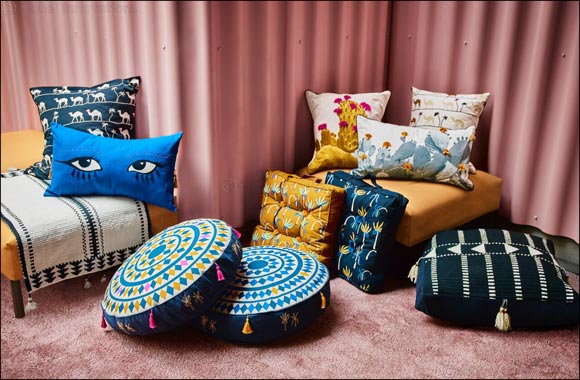 IKEA's TILLTALANDE Collection - Made in collaboration with Jordanian and refugee women artisans and the Jordan River Foundation