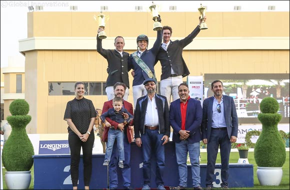 Abdullah Al-Sharbatly excels in Sustainable City Horse Jumping Competition 2019 and wins the Cup