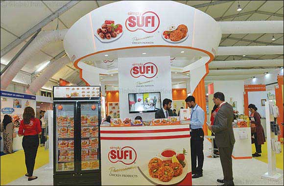 Simply SUFI displays its authentic food products at Gulf food 2018