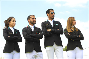 Lucky Number Five for UAE In FEI Longines Jumping Nations Cup� Draw
