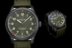 Three New Breitling Watches Commemorate an Aviation Legend:  The Curtiss P-40 Warhawk