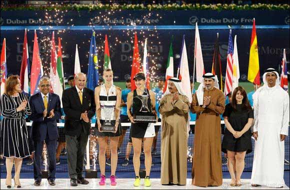 Belinda Bencic upsets Petra Kvitova to win Dubai Duty Free Tennis Championships Title