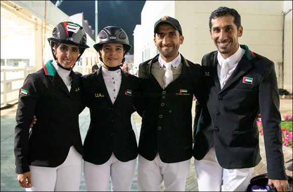 Five-star President of the UAE Showjumping Cup presented by Longines Comes to Spectacular Close with Prestigious Longines FEI Jumping Nations Cup™ Qualifier