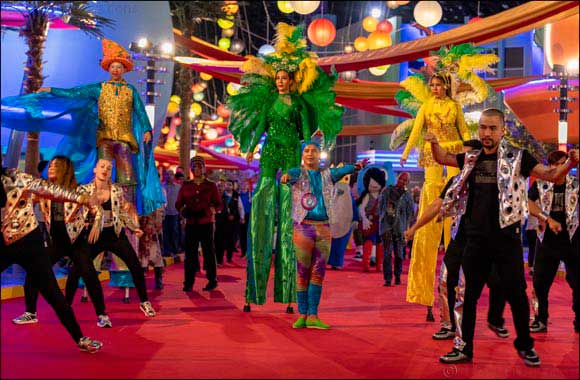 IMG Worlds of Adventures celebrates First Mardi Gras Festival in Dubai
