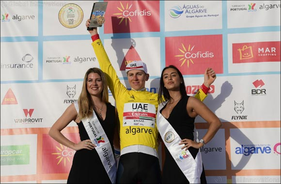 Perfect in Portugal as UAE Team Emirates' Tadej Pogacar wins the Volta Algarve