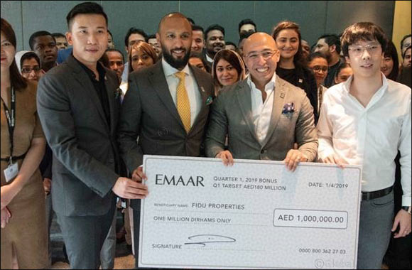 Emaar honours Fidu Properties with special incentive for support and partnership