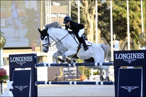 National Show Jumping Competitions Start Back up in Abu Dhabi