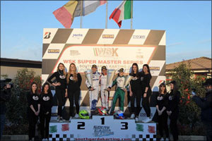 Young UAE Karting Star Rashid Al Dhaheri Delivers Resounding Victory in WSK Super Master Series