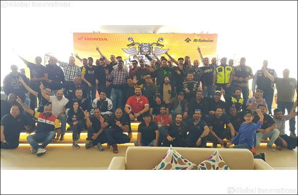 Al-Futtaim Honda hosts its annual 'Born To Ride' road trip for its biking community