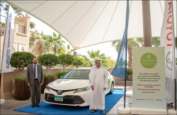 Al-Futtaim Toyota and Citi Taxi Sharjah committed to improving UAE air quality