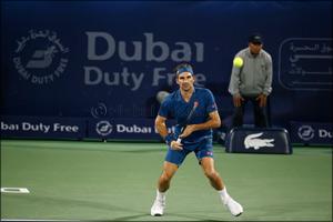 Nishikori upset, Federer wins at Dubai Duty Free Tennis Championships