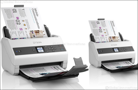 Epson launches two new highly productive and efficient compact document scanners