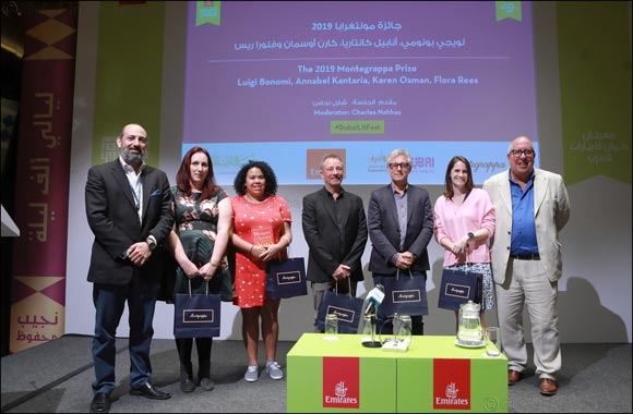 Winner of Montegrappa Writing Prize is announced at the Emirates Airline Festival of Literature
