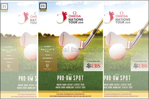 Omega Nations Golf Tour is back with a second series