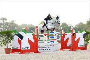 Week 11 of Emirates Longines Show Jumping League Has Eventful Finish at Abu Dhabi Equestrian Club