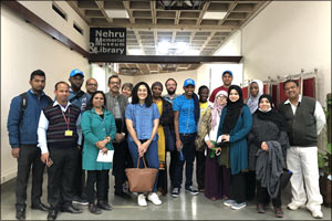 UCL Qatar Library and Information Studies students go to India to get insights on Libraries and Libr ...