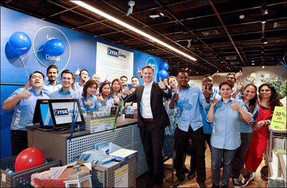 Scandinavian retail pioneer JYSK celebrates it's first birthday in the UAE