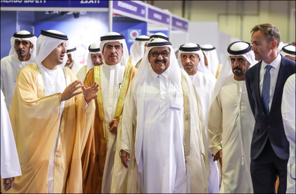 HH Sheikh Hamdan Bin Rashid Al Maktoum, Deputy Ruler of Dubai and UAE Minister of Finance opens Middle East Electricity 2019