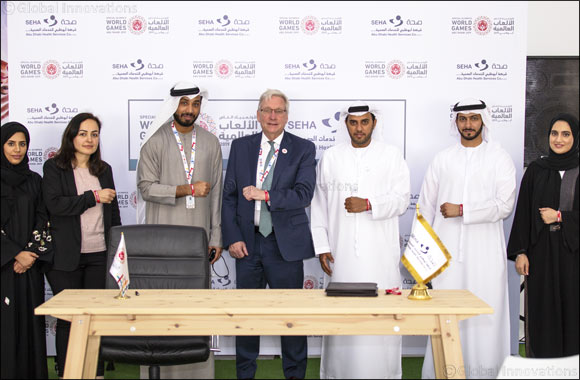 Abu Dhabi Health Services Company (SEHA) to provide healthcare services to Special Olympics World Games Abu Dhabi 2019 participants