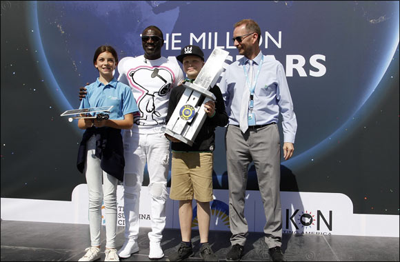 The Sustainable City Dubai hosted the Million Solar Stars Challenge in partnership with Akon Lighting America