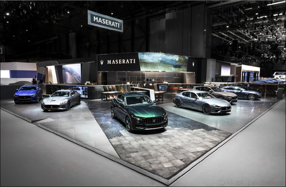 Maserati Levante: the Allegra Antinori one-off and the interactive journey through Italian excellence at the 89th Geneva International Motor Show