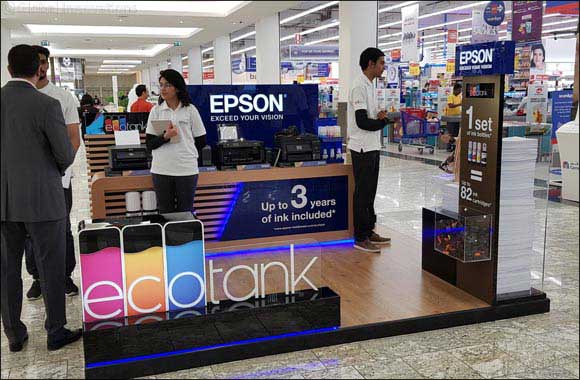 Epson launches awareness campaign in UAE and KSA for cost saving EcoTank printers