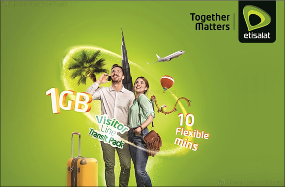Etisalat launches 'Transit Pack' for UAE visitors
