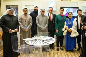 Burgan Bank Supports Kuwaiti Project for Special Needs Exhibition for the Second Consecutive Year