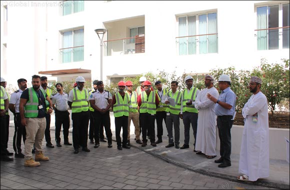 Al Mouj Muscat holds a Fire Evacuation Drill