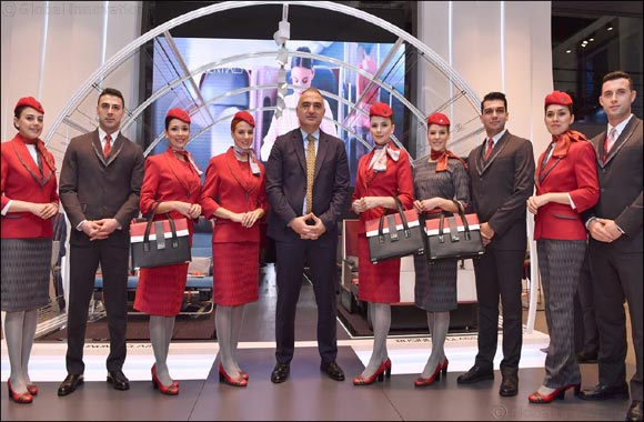 Turkish Airlines presents new cabin uniforms at acclaimed fashion show at ITB Berlin